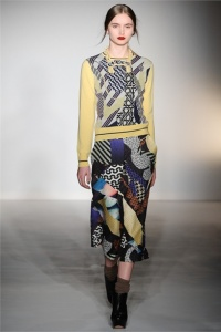 The Chic Daily, Fashion Journalist Club, London Fashion Week, Basso & Brooke