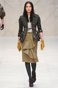 The Chic Daily, Fashion Journalist Club, London Fashion Week, Burberry Prorsum