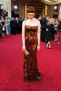 The Chic Daily, Fashion Journalist Club, Academy Awards 2012, Ellie Kemper