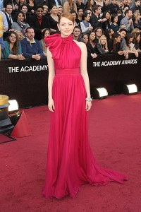 The Chic Daily, Fashion Journalist Club, Academy Awards 2012, Emma Stone
