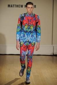 The Chic Daily, Fashion Journalist Club, London Fashion Week, Matthew Miller