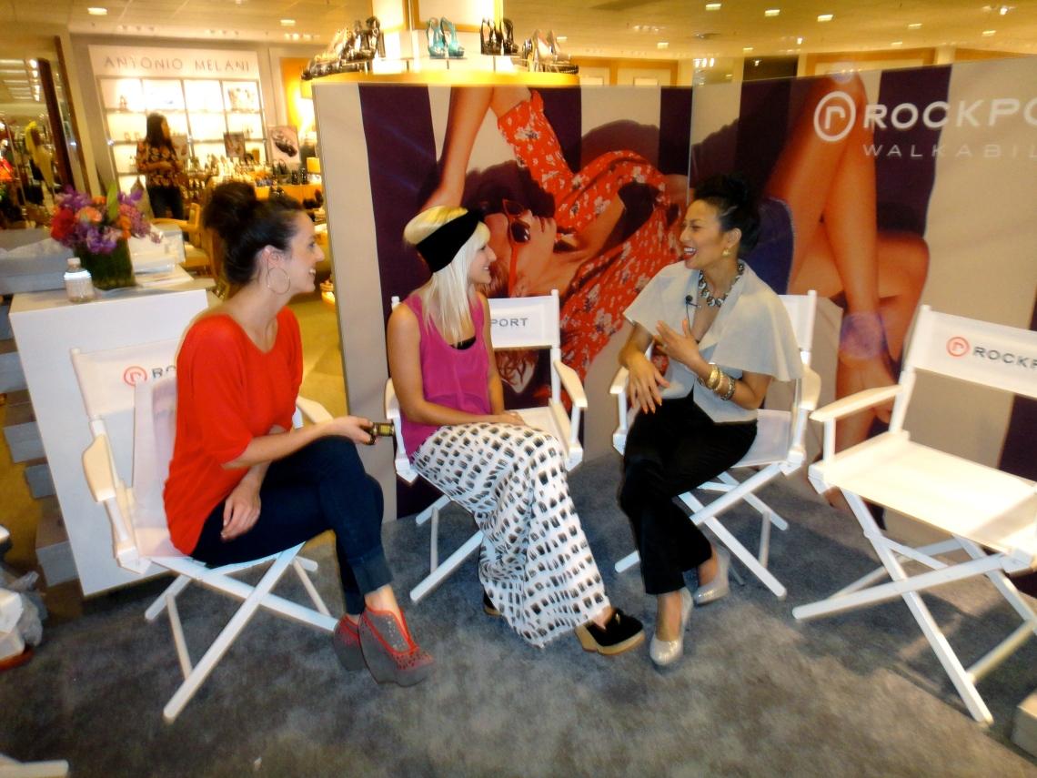 The Chic Daily, Fashion Journalist Club, Cortney Kaminski & Jessica Abercrombie, Jeannie Mai