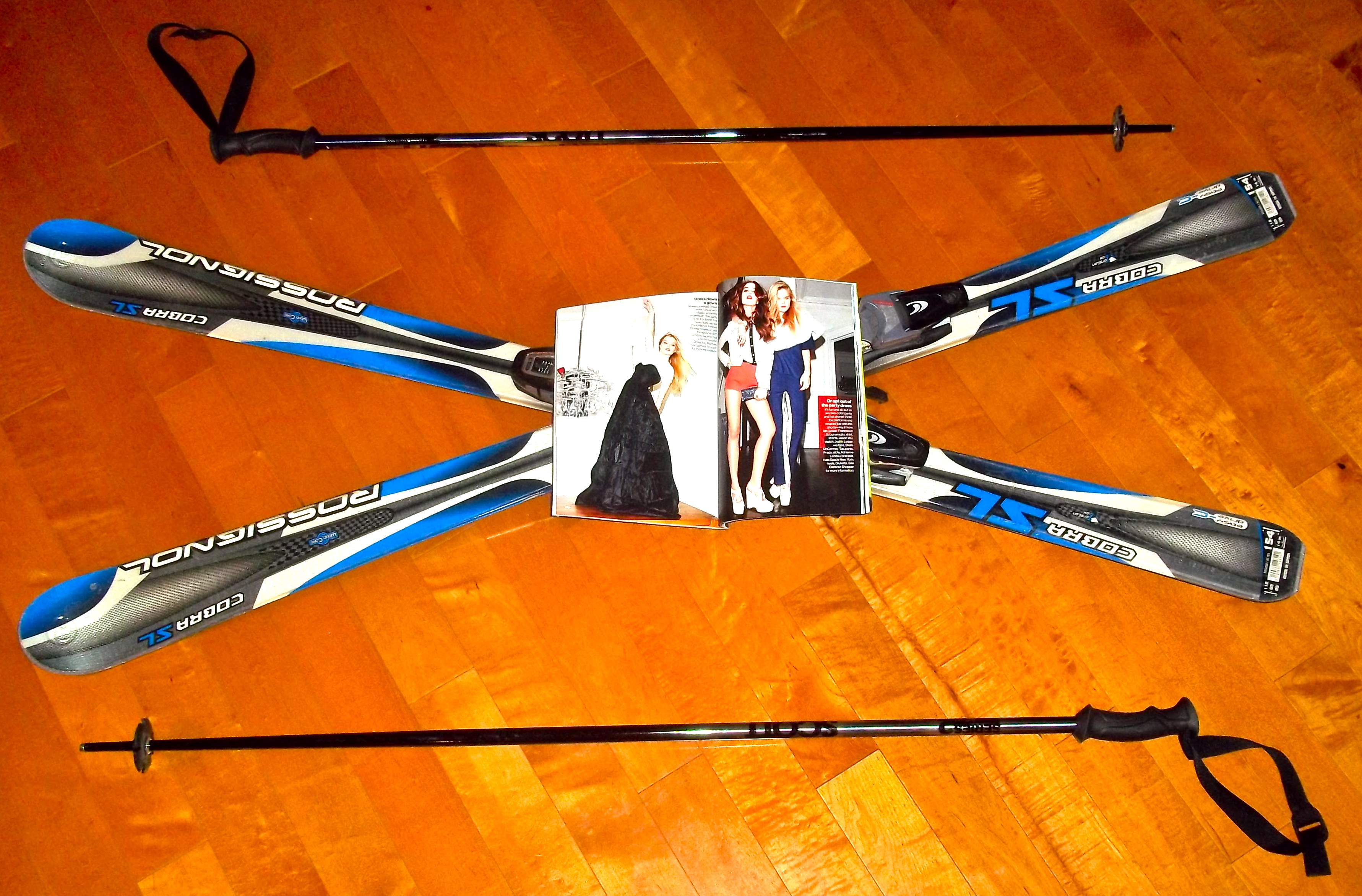 The Chic Daily, Fashion Journalist Club, Ellen Kuni, Skiing Fashion