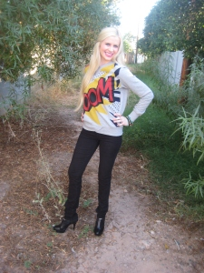 Target Boom Sweater