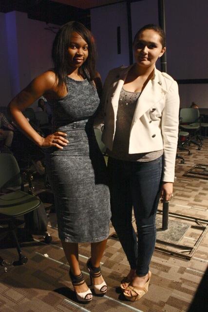 Brittany Ford and Auburn Dush CFS