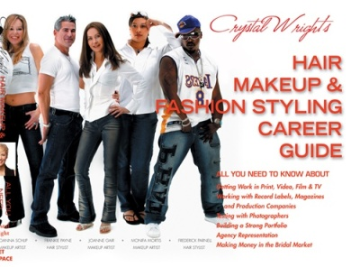 Crystal Wright's book- Make up and hair