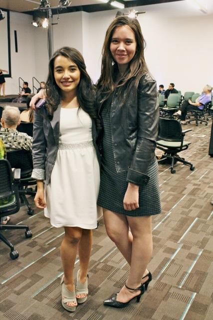Gina Meza and Maria Fabiola CFS