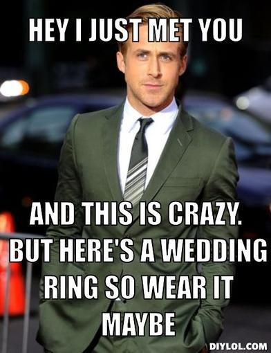 Ryan Gosling wedding