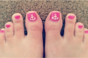 anchors pedicure
