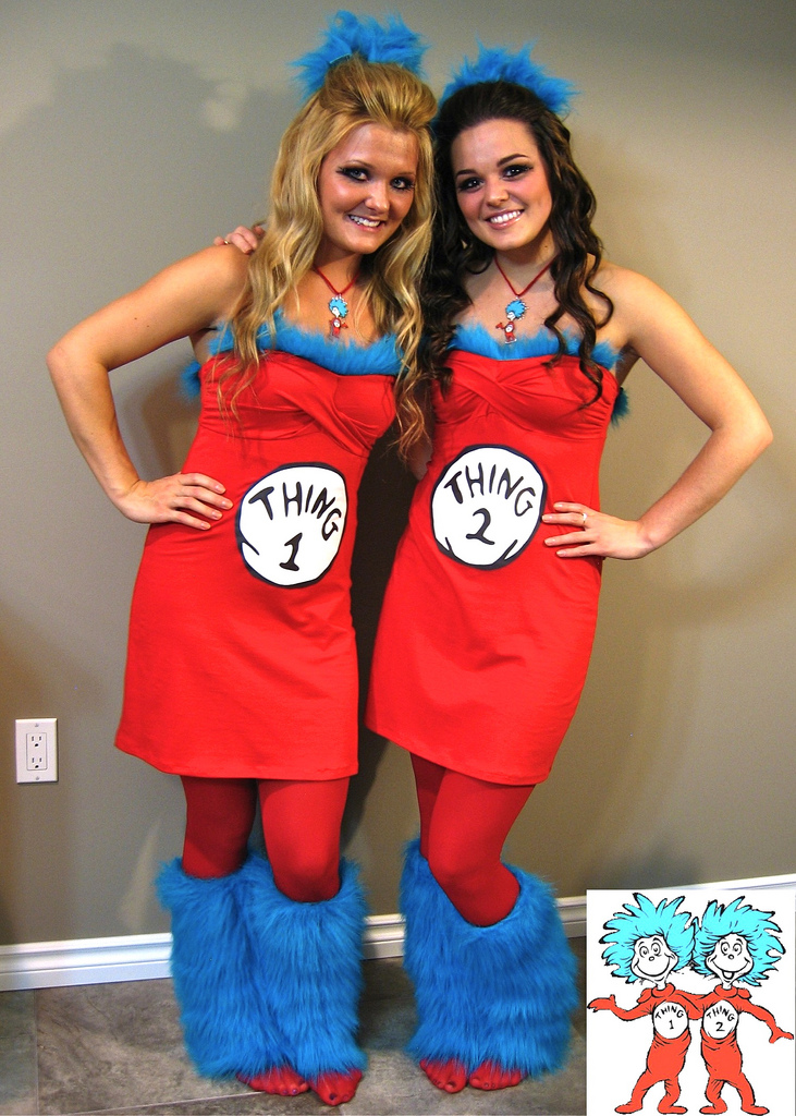Thing1Thing2 pic 2  sc 1 st  The Chic Daily & Halloween 2014: Costumes for Two u2013 The Chic Daily