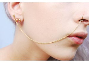 nose chain 2