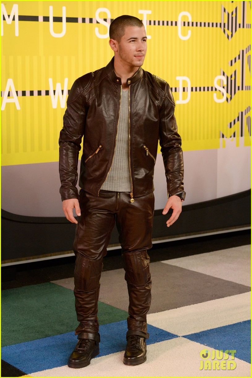LOS ANGELES, CA - AUGUST 30: Recording artist Nick Jonas attends the 2015 MTV Video Music Awards at Microsoft Theater on August 30, 2015 in Los Angeles, California. (Photo by Frazer Harrison/Getty Images)