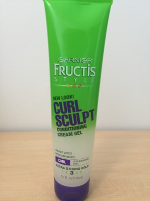 Garnier Fructus Curl Sculpting Cream Gel // Photos by Madison Dehaven