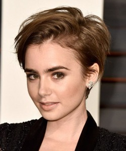 (4th pic) Lily Collins pixie (1)