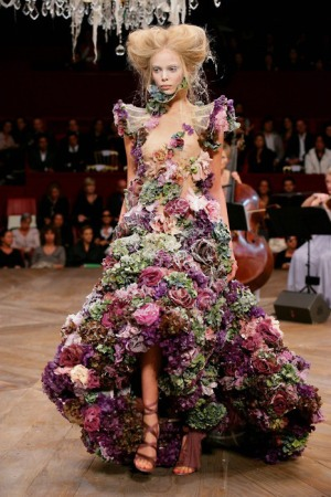 An Alexander McQueen design // Photo retrieved from Art, Fashion, & Him