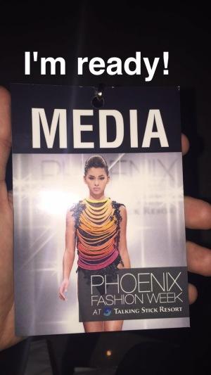 Media pass / Photo courtesy of Lerman Montoya