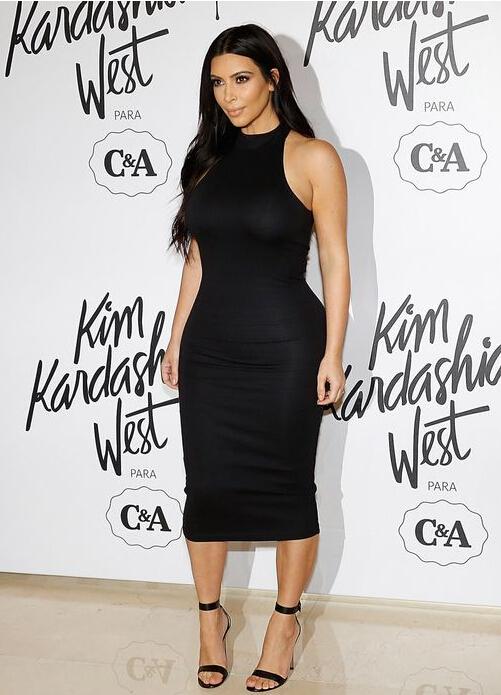 Kim Kardashian in a bodycon dress // Photo retrieved from BP Dress
