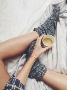 Put your feet up // Photo retrieved from Pinterest