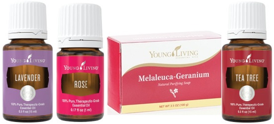 Essential oils which can be found on https://www.youngliving.com/