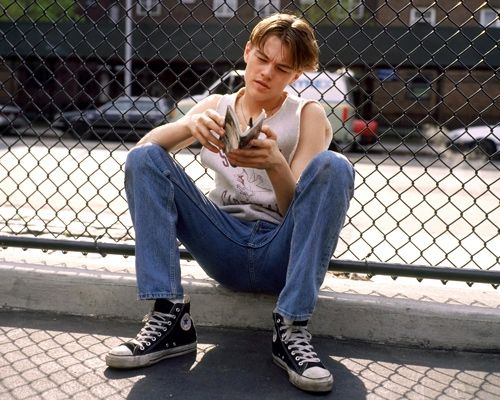 Leo rocked Converse even before they were cool // Photo retrieved from Pinterest