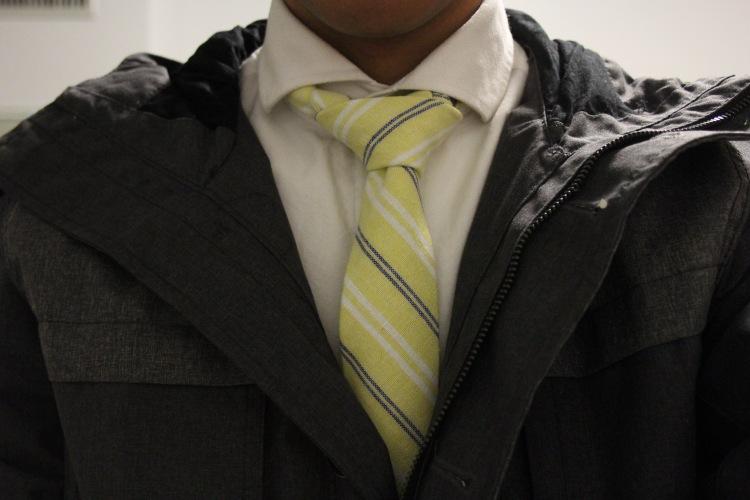 yellow-tie
