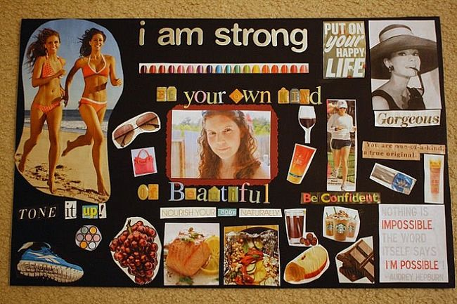 Get Crafty And Motivated With Vision Boards The Chic Daily