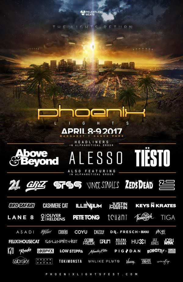 Music Festivals 2017