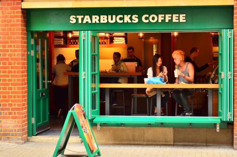 The Couple in Starbucks' Window