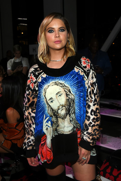 NYFW Ashley Benson Jeremy Scott