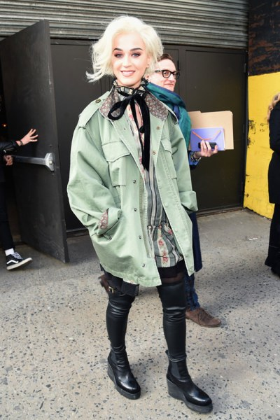 NYFW Katy Perry Marc Jacobs